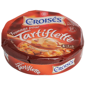 Fromage tartiflette Les Croises 27%MG 500g