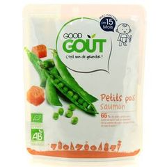 Good gout petits pois saumon 220g