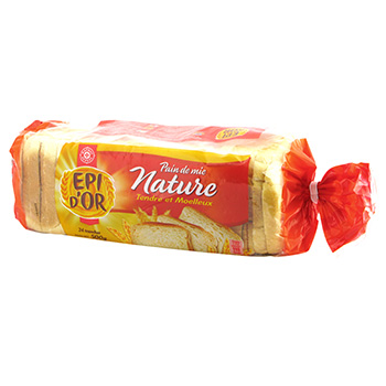 Pain mie Epi d'Or Nature Moelleux 500g