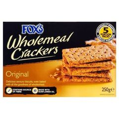 Fox's Original Wholemeal Crackers (250g)