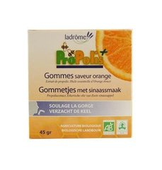Gomme saveur orange à la propolis, bio