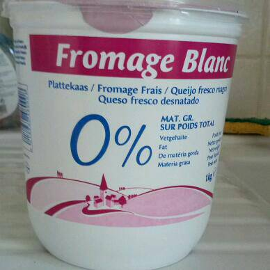 fromage blanc 0% 1kg