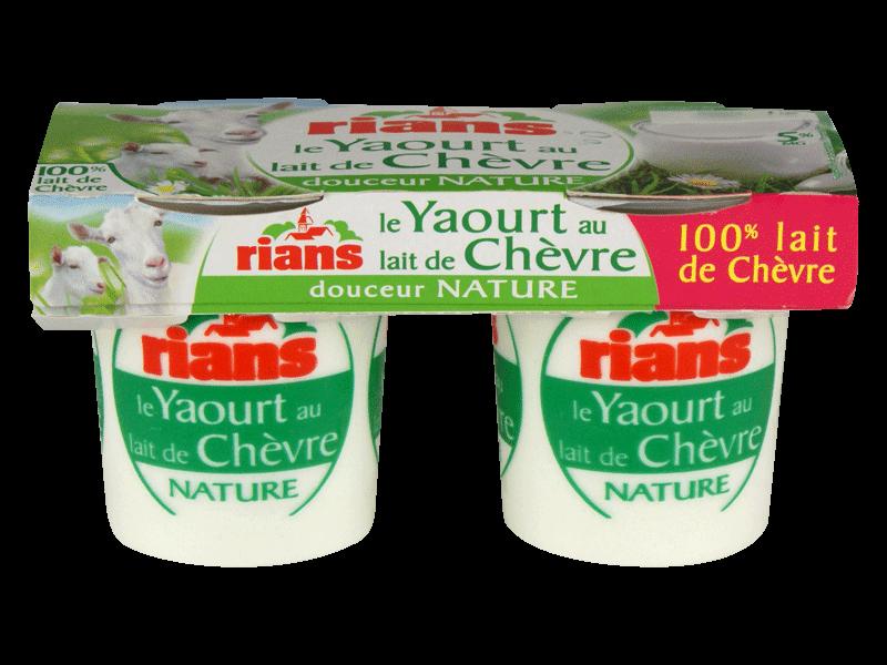 Yaourts lait de chevre fraises tous les produits yaourts - Yaourt maison lait de chevre ...
