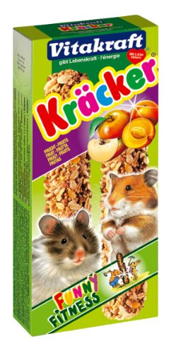 Kracker, aliment aux fruits pour hamsters