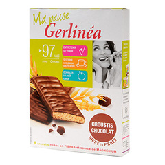 Crousti leger Gerlinea Chocolate 160g