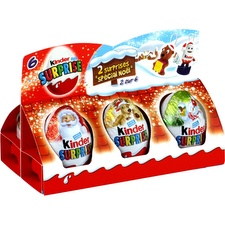 Bonbons chocolat lait Noël Kinder Surprise