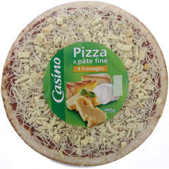 Pizza 4 fromages 450g