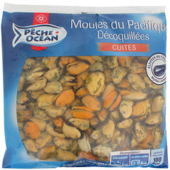 Moules decortiquees P.Ocean 500g