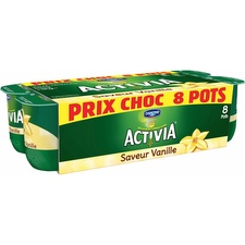 Yaourts vanille Activia