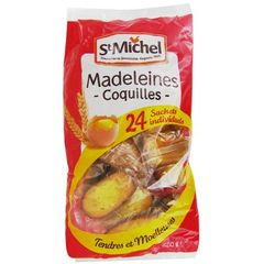 St Michel madeleines coquilles natures x24 -600g