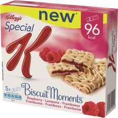 Biscuits moments framboise SPECIAL K KELLOGG'S, 5x25g