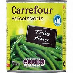Haricots verts tres fins