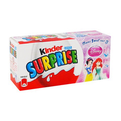 Kinder surprise fille x3 -60g