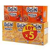 crackers monaco x 3 + 2 minizza belin 485g