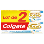 Dentifrice soin gencives blancheur Colgate Total