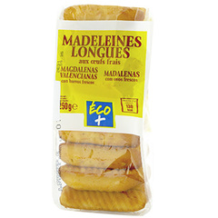 Madeleines longues Eco+ 250g