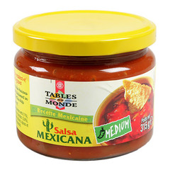 Sauce mexicaine Tables du Monde Medium 315g