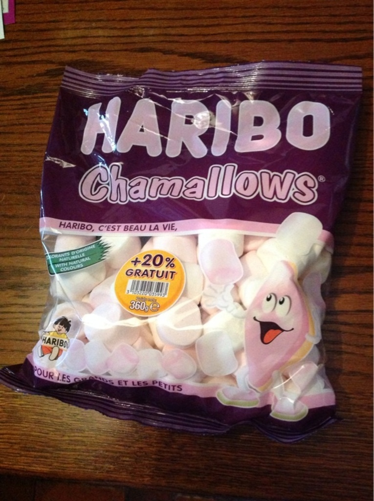 Bonbons Haribo chamallows 300