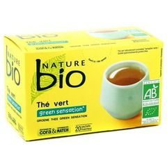 Nature bio the vert green sensation 20 sachets 33g