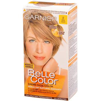 garnier belle color coloration permanente blond 02 blond naturel image_1 image_2 - Belle Color Blond Naturel