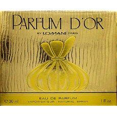 Eau de toilette Parfum d'Or LOMANI, 30ml