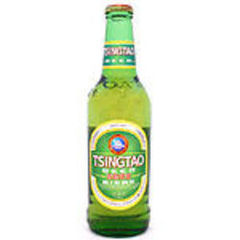 Biere blonde Chinoise TSINGTAO, 33cl