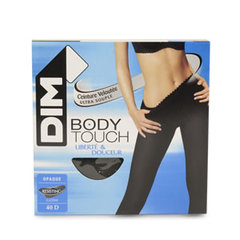 Collant opaque Body Touch DIM, taille 4, gris