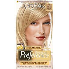 Coloration permanente Recital PREFERENCE, Hollywood Y blond tres clair