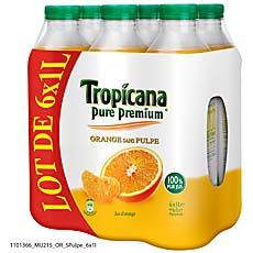 Jus d'orange sans pulpe - Pure Premium TOP AFFAIRE