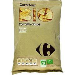 Tortilla chips bio nature Carrefour Bio