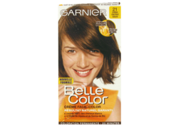 Coloration permanente BELLE COLOR, chatain clair dore n°21