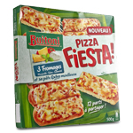 Pizza fiesta 3 fromages 500g