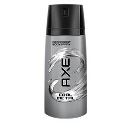 Déodorant AXE cool metal, spray de 150ml