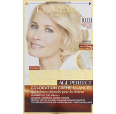 Excellence L'Oréal Paris Excellence Coloration Cheveux Matures & Très Blancs Age Perfect 10,03 Blond Très Très...