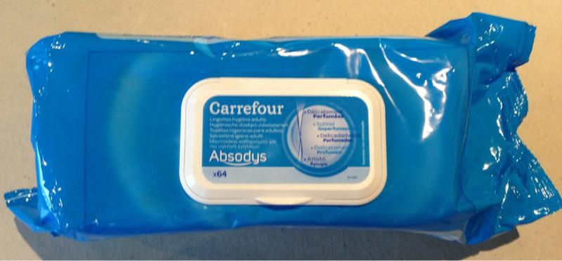 Lingettes Hygiene Adulte Sans Alcool Camomille Absodys Le Paquet