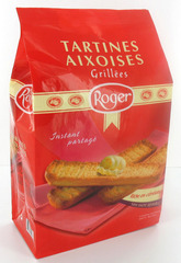Tartines Aixoises grillees