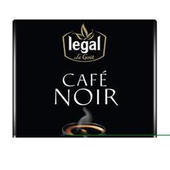 Legal cafe noir moulu 2x250g