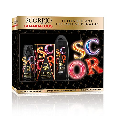 Scorpio coffret eau de toilette scandale 3 pieces