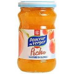 Confiture Douceur du Verger Allegee Peche 340g