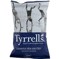 Tyrrells Hand Cooked English Crisps - Lightly Sea Salted (150g)