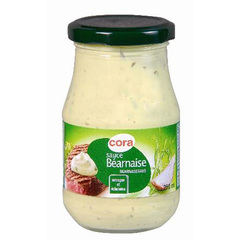 Cora sauce bearnaise en bocal verre 250ml