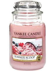 Yankee Candle (Bougie) - Summer Scoop - Grande Jarre