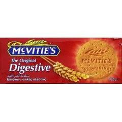 The original digestive, biscuits sablés, le paquet, 400g