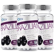 FORZA Acai Berry 2:2:1 - Natural Detox Diet Pills with Pure Acai - 270 Capsules