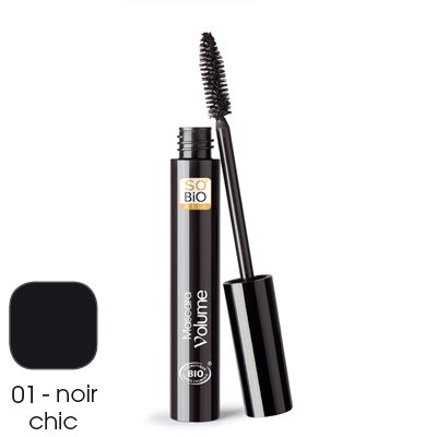 So'Bio Étic Yeux Mascara Volume 01 Noir Chic 10 ml Lot de 2