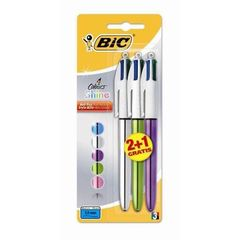 Stylo bille 4 Colours Shine