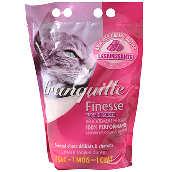 Litiere Tranquille Finesse assainissants 3.65l