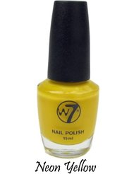 w7 Vernis à Ongles 21 Néon Yellow 15 ml