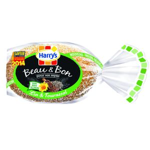 HARRYS BEAU & BON PAIN DE TABLE LIN & TOURNESOL 320G