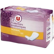 Protections anatomiques U, abs normal, 12 unites